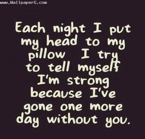 Download One more day without you - Love and hurt quotes