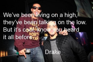 Drake quotes and sayings about himself cool life