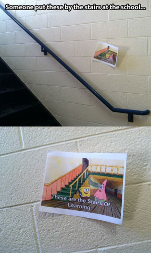 Stairs of learning…