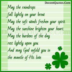 ... irish bless happy birthdays happi birthday birthday quot mornings
