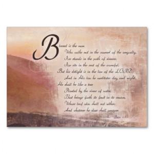 Encouragement & Inspirational Bible Verse Cards Business Card Template ...