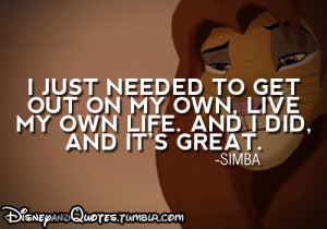 ... lion king simba quote disney quotes disney posted on sat mar 17 2012