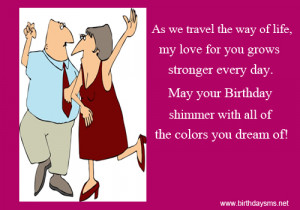 Birthday Wishes Quotes For Husband From Wife #4