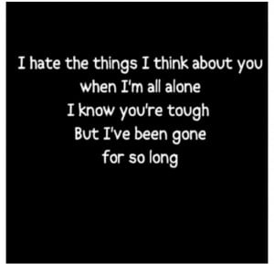 hate things I think about you