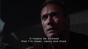 Heartbreak Ridge quotes,Heartbreak Ridge (1986)