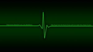 green dark quotes hope heart beat littleteufel 1920x1080 wallpaper Art ...