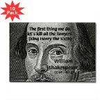 William Shakespeare: Henry VI Quote 'Kill All the Lawyers', Picture on ...