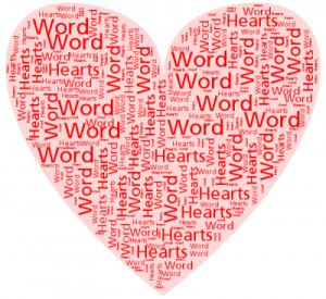 ... Word Hearts thatlets you generate heart shapes filled with words. Here