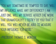 Missionary Quote LDS Mormon Prophet President Thomas S Monson Instant ...