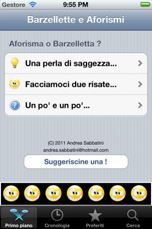 Italian Jokes and Quotes Screenshots