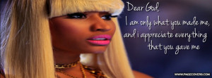 Nicki Minaj Quote Cover Comments