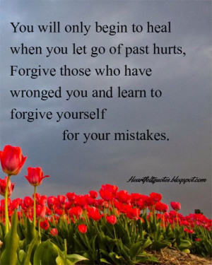 Quotes About Letting go of The Past Hurt You Let go of Past Hurts