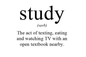 study quotes funny
