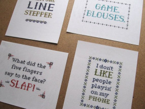 Dave Chappelle's Show Quote Cross Stitch Pattern by esilverdesign, $20 ...