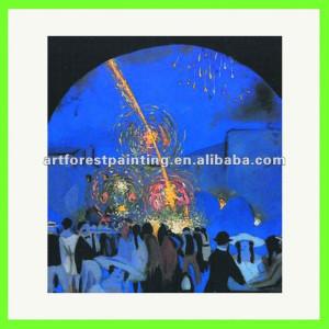 ... de salvador dalí pintura en fiesta a figueres ( 1914 - 1916