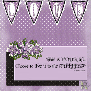 Viewing Gallery For - I Love Purple Quotes