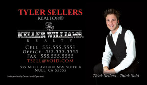 Keller Williams Business Cards Design