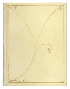DOWSON, Ernest (1867-1910). Verses. London: Leonard Smithers, 1896 ...