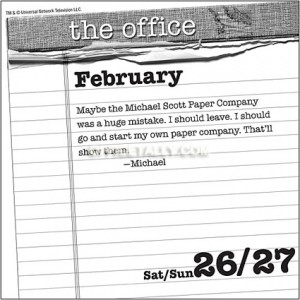 The Office' 2011 Quote of the Day Calendar