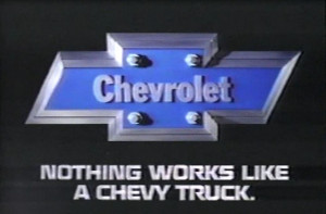 ... Video: 1985 Chevy Truck Commercial - Nothing works like a Chevy Truck