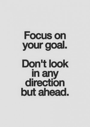 RB': Focus on your goal!
