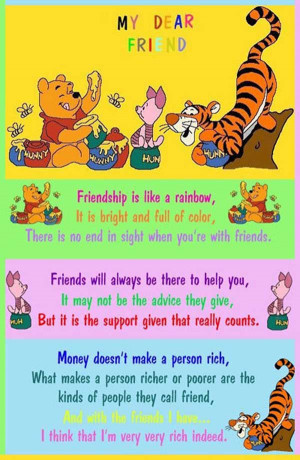 Dear Friend Quote