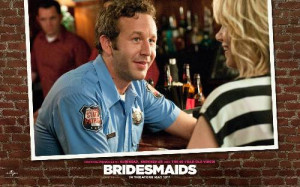 ... Nathan Rhodes (Chris O'Dowd) And Annie (Kristen Wiig) In Bridesmaids