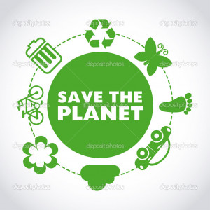 Save The Planet Save the planet - stock