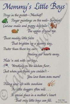 mommy s little boys idea mommi stuff little boy poems inspir babi son ...