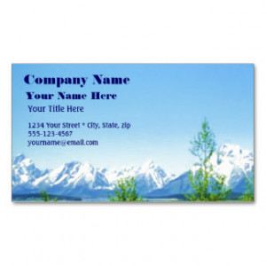 Inspirational Quotes Business Cards