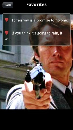 Clint Eastwood Quotes Screenshot 2