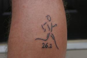 My new running Tattoo