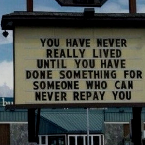 so true... :) good deeds