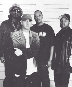 ... dre eminem Ice Cube Aftermath west coast gangsta rap original gangster