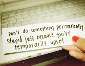 Being Upset Quotes & Sayings