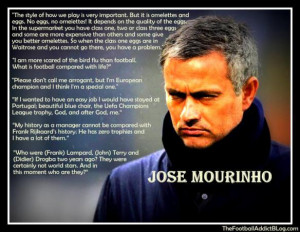 Jose Mourinho Quotes part 2
