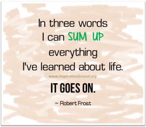 Life Goes on Quotes Life Quotes Life Goes Quotes