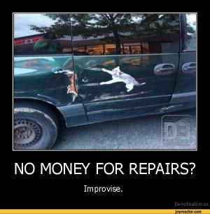 Funny Car Repair Cartoons