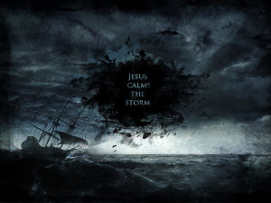 Jesus calms every storm, in his timing