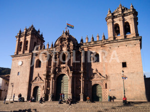 Cathedral of Santo Domingo Cusco Peru