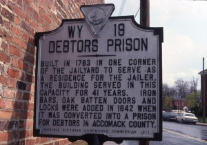 Accomac Debtor's Prison