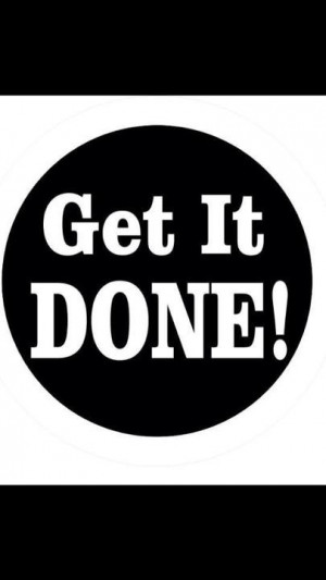 Get it done in 2013