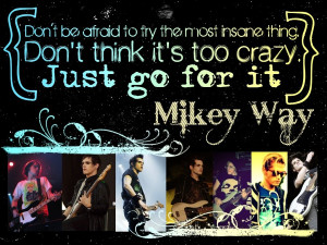 Mikey Way Quote Wllppr by MikeyChemicalWay