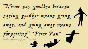 Mean Goodbye Quotes...