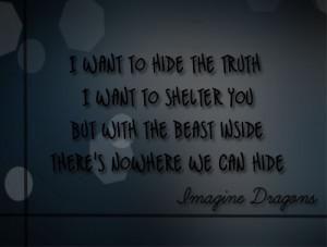 Imagine Dragons Quotes Tumblr