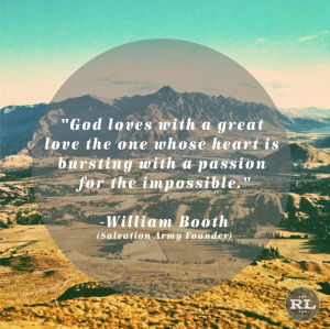 William Booth — RESTORATION LIVING