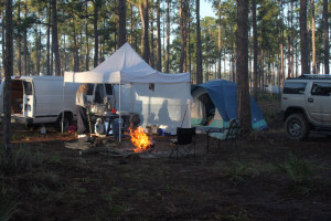 Redneck Tent Camping Camping -redneck yacht club