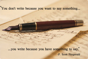 Writer Quotes On Writing Advice to writers should