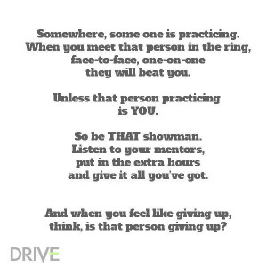 Be THAT Showman! #showstocklife