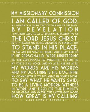 missionary quotes